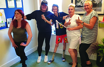 Time for sport at Gravesend care home