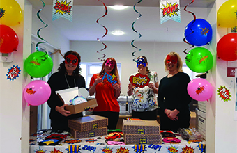 No tricks, just treats for care staff this Halloween