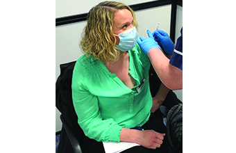 Care worker first person in Dorset to get Covid vaccine
