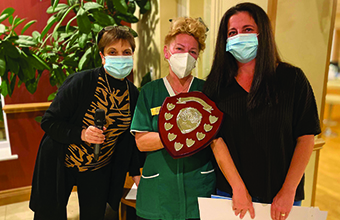 Home hosts special ceremony to reward its carers for going above and beyond