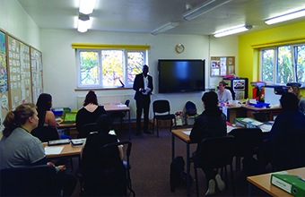 Students gain valuable insight into a life providing care