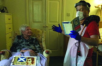 Care homes toast 'Rabbie' in annual Burns celebration
