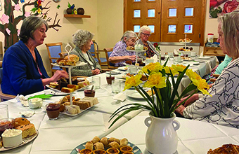 Home hosts digni-tea for Dignity Action Day