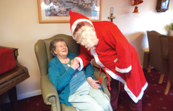 Care home's Christmas fayre benefits the Alzheimer's Association